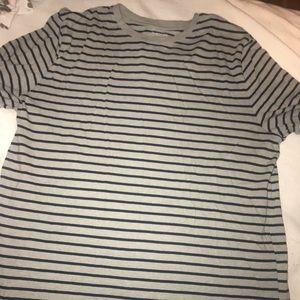Striped men's shirt large.